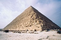 Pyramid of Chephren. Giza. Egypt