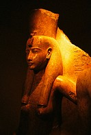 Statue. Luxor Museum. Luxor (ancient egyptian city of Thebes)