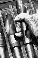 Large drill bits