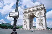 Arc de Triomphe. Paris. France.