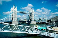 Tower Bridge. London. England