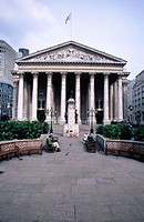 Stock Exchange building. London. England