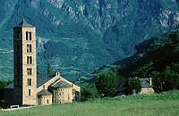 Romanesque church (XI-XII centuries). Taüll. Lleida province. Spain
