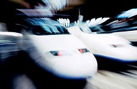 AVE (High speed train). Madrid. Spain (thumbnail)