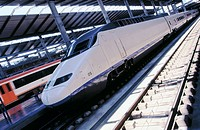 AVE (High speed train). Cordoba train station. Spain (thumbnail)