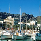 Port of Pollensa. Majorca. Balearic Islands. Spain