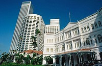 Raffles Hotel. Singapore
