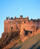 Edinburgh Castle. Edinburgh. Scotland