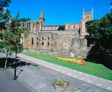 Dunfermline Palace and Abbey. Dunfermline. Fife. Scotland