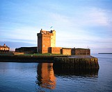Broughty Ferry Castle, near Dundee. Angus. Scotland