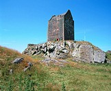 Smailholm Tower. Scottish Borders. Scotland