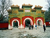 Temple. Beijing. China