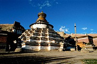 Buddhist Pagoda. Tibet