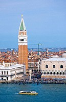 View from San Giorgio Maggiore to San Marco. Venice. Italy