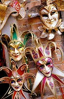 Carnival masks. Venice. Italy