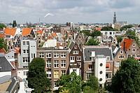 Aerial view. Amsterdam. Holland