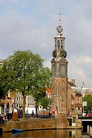 Munttoren (Mint Tower). Amsterdam. Holland