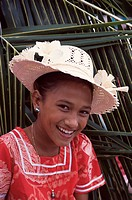 Cook Islands,Portrait, Girl