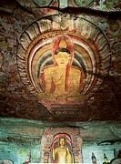 Dambulla, Rock Temple Cave, Sri Lanka