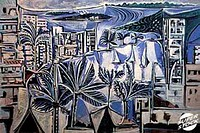The Bay of Cannes 1958 Pablo Picasso (1881-1973/Spanish). Musee Picasso, Paris