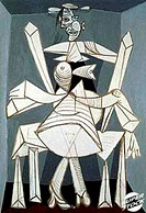 Woman Seated in an Arm Chair 1938 Pablo Picasso (1881-1973/Spanish)