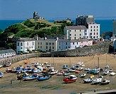 Tenby Dyfed County Wales