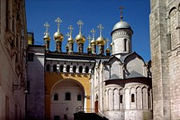 Church of the Deposition of the Robe Kremlin Moscow Russia