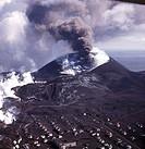 Helgafel Volcano Heimaey Westmann Island Iceland