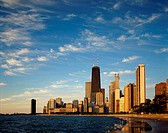 City on the waterfront, Chicago, Illinois, USA