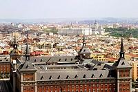 Ministry of Air building. Madrid. Spain