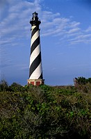 Cape Hatteras Lighthouse Cape Hatteras National Seashore North Carolina, USA Prior to 1999 Relocation