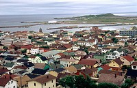 Saint-Pierre city, capital of Saint Pierre et Miquelon (a french colony in the north of Canada)