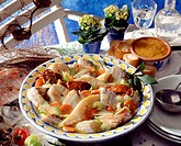 Fish stew with seafood