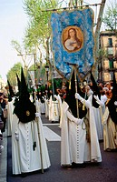 Good Friday in Barcelona. Spain