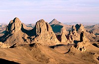 Assekrem. Hoggar Mountains (Central Sahara). Argelia