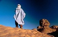 Tassili Ahaggar in the Hoggar Mountains (Central Sahara). Argelia