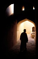 Fort of Sultan Bin Said. Nizwa. Sultanate of Oman. Middle East