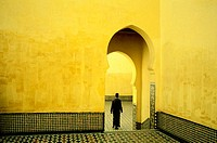 Grave of the Moulay Ismail. Meknes. Morocco