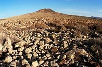 Malpais de la Arena. Fuerteventura, Canary Islands. Spain