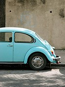 Old Beetle car