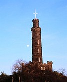 Nelson Monument, Calton Hill. Edinburgh. Scotland