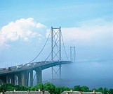 Forth Road Bridge (1964). Edinburgh. Scotland