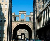 Regent Bridge. Waterloo Place. Edinburgh. Scotland