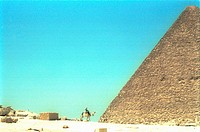 Pyramid of Giza. Egypt