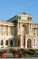 The Hofburg. Vienna. Austria