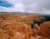 Bryce Canyon from Sunset Point. Bryce Canyon National Park. Utah. USA