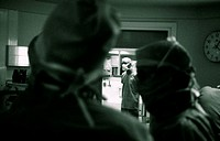 SURGICAL TEAM<BR>Photo essay.<BR>Cochin Hospital in Paris, France.