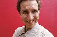 Mark Kostabi, American painter. 47th Venice Biennale. 1997