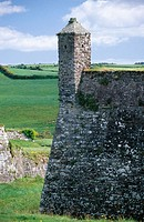 Watchtower in Charlesfort. Kinsale. County Cork. Ireland