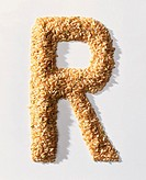 rice letter R